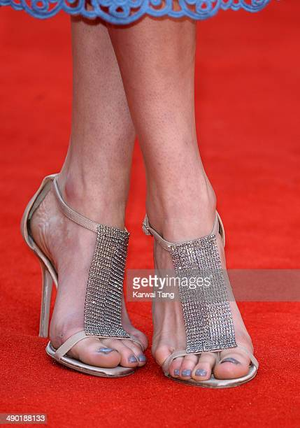 Daisy Bevan attends the UK Premiere of 'The Two Faces Of January' held at the Curzon Mayfair on May 13 2014 in London England