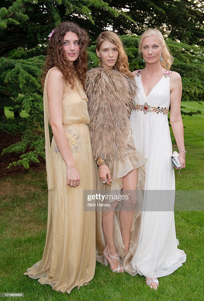 Daisy Bevan Elena Perminova and Joely Richardson attend the annual Raisa Gorbachev Foundation Party at Stud House Hampton Court on June 5 2010 in...