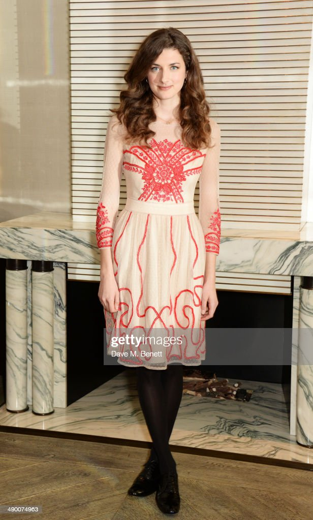 Daisy Bevan poses at a photocall for 'The Two Faces Of January' at Corinthia Hotel London on May 13 2014 in London England