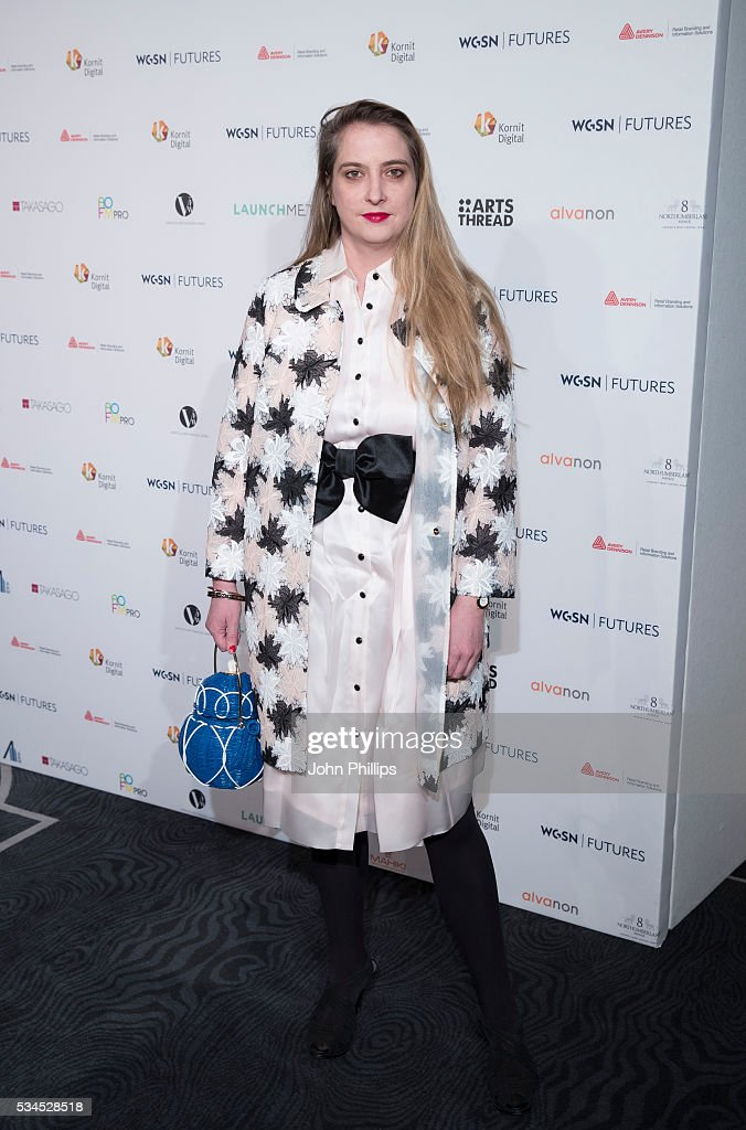 <a gi-track='captionPersonalityLinkClicked' href=/galleries/search?phrase=Daisy+de+Villeneuve&family=editorial&specificpeople=630482 ng-click='$event.stopPropagation()'>Daisy de Villeneuve</a> arrives for the WGSN Futures Awards 2016 on May 26, 2016 in London, England.
