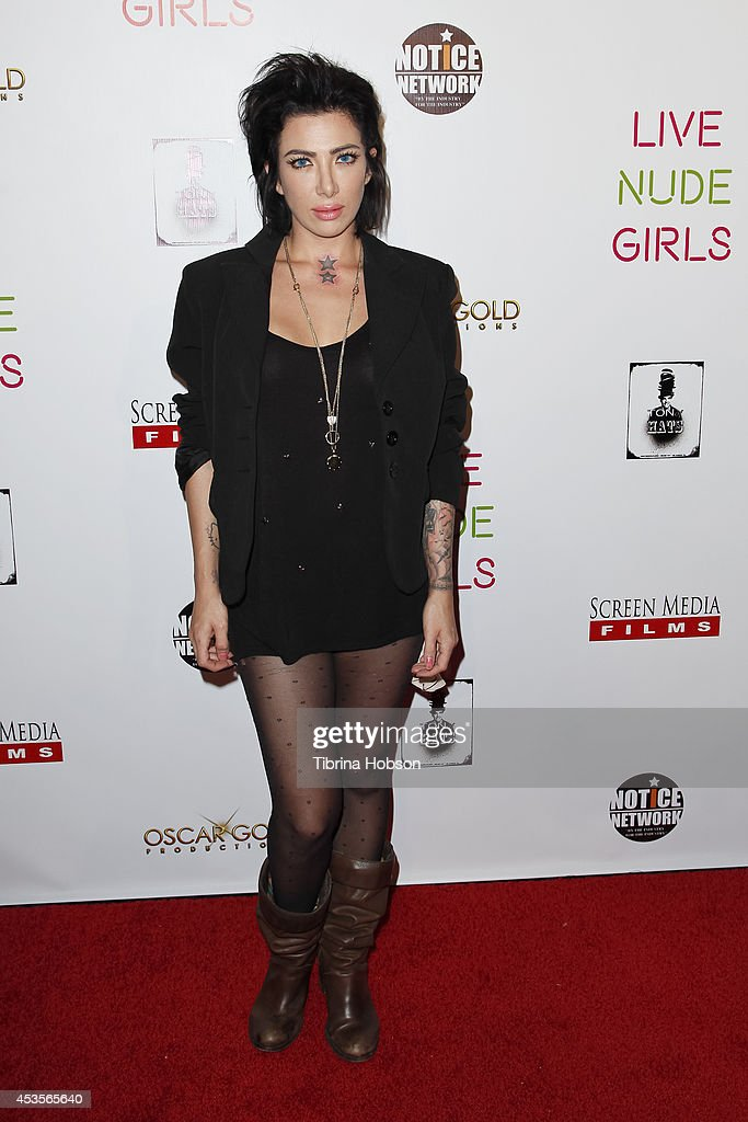 Daisy Delahoya attends the 'Live Nude Girls' premiere at Avalon on August 12, 2014 in Hollywood, California.