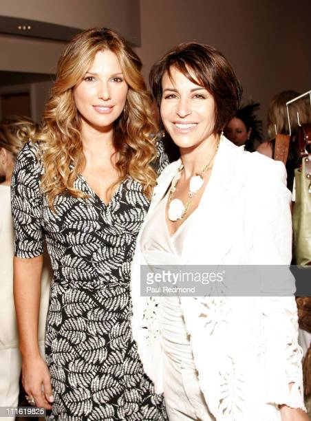 Daisy Fuentes and Giselle Fernandez during APCH Awards Luncheon and Fashion Show at Beverly Hills Hotel in Beverly Hills California United States