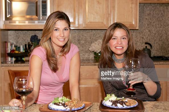 With Daisy Fuentes Cooking#6