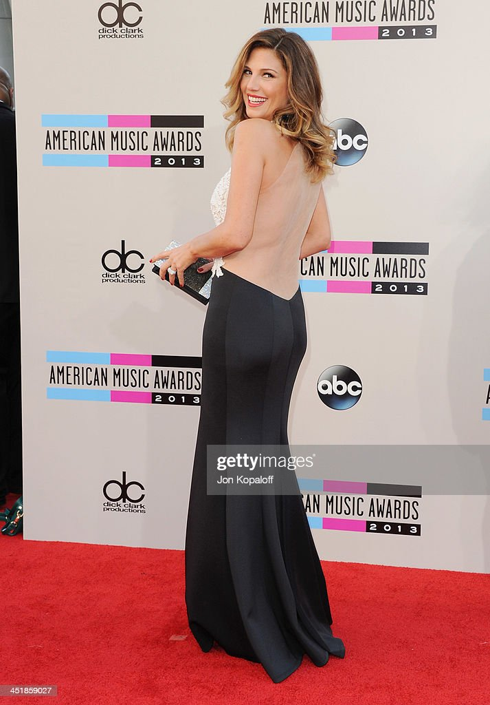 Daisy Fuentes arrives at the 2013 American Music Awards at Nokia Theatre L.A. Live on November 24, 2013 in Los Angeles, California.