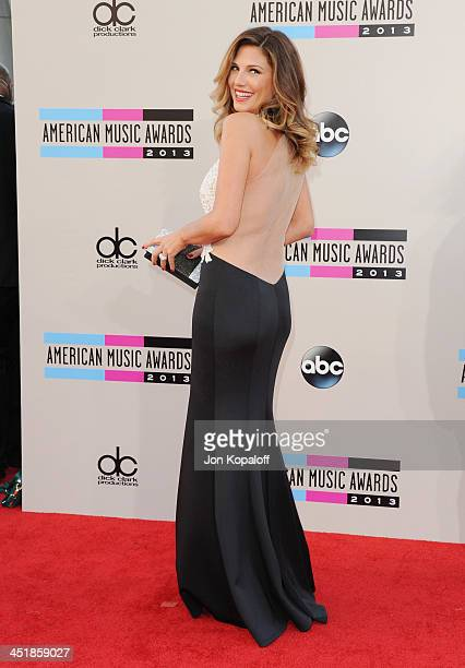 Daisy Fuentes arrives at the 2013 American Music Awards at Nokia Theatre LA Live on November 24 2013 in Los Angeles California