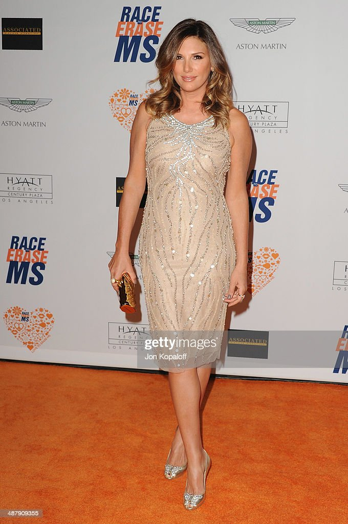 <a gi-track='captionPersonalityLinkClicked' href=/galleries/search?phrase=Daisy+Fuentes&family=editorial&specificpeople=201611 ng-click='$event.stopPropagation()'>Daisy Fuentes</a> arrives at the 21st Annual Race To Erase MS Gala at the Hyatt Regency Century Plaza on May 2, 2014 in Century City, California.