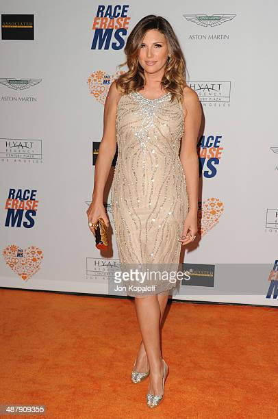 Daisy Fuentes arrives at the 21st Annual Race To Erase MS Gala at the Hyatt Regency Century Plaza on May 2 2014 in Century City California