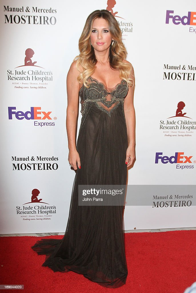Daisy Fuentes attends 11th annual FedEx/St. Jude Angels & Stars Gala in Miami at JW Marriott Marquis on May 18, 2013 in Miami, Florida.