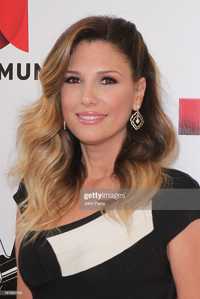 Daisy Fuentes attends a press conference for Telemundo's 'La Voz Kids' on May 2, 2013 in Miami, Florida.