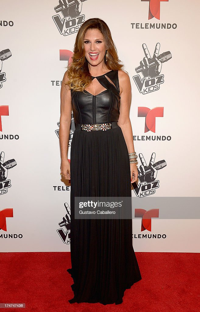 <a gi-track='captionPersonalityLinkClicked' href=/galleries/search?phrase=Daisy+Fuentes&family=editorial&specificpeople=201611 ng-click='$event.stopPropagation()'>Daisy Fuentes</a> attends Telemundo's 'La Voz Kids Finale on July 27, 2013 in Miami, Florida.