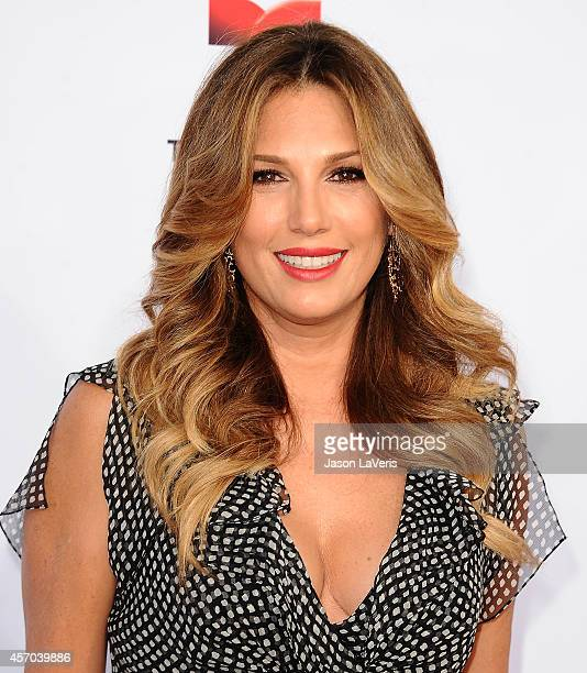 Daisy Fuentes attends the 2014 NCLR ALMA Awards at Pasadena Civic Auditorium on October 10 2014 in Pasadena California