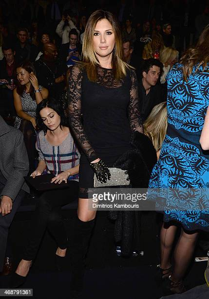 Daisy Fuentes attends the Nicole Miller show during MercedesBenz Fashion Week Fall 2014 at Milk Studios on February 7 2014 in New York City