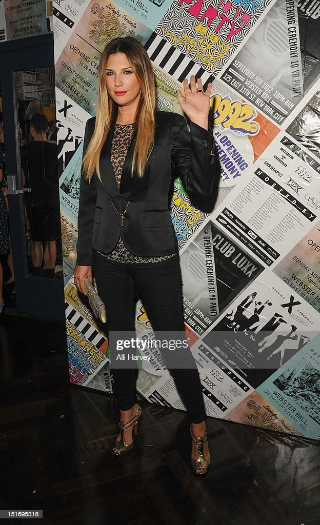 Daisy Fuentes attends the Opening Ceremony Spring/Summer 2013 Fashion Week Party at Webster Hall on September 9, 2012 in New York City.