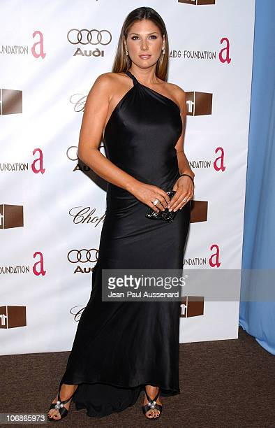 Daisy Fuentes during 14th Annual Elton John AIDS Foundation Oscar Party Cohosted by Audi Chopard and VH1 Arrivals at Pacific Design Center in...