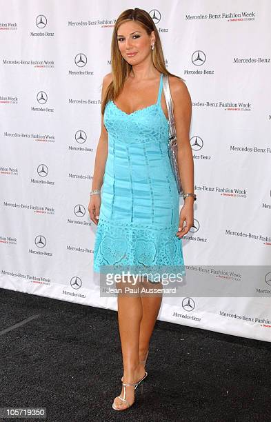Daisy Fuentes during MercedesBenz Fall 2005 LA Fashion Week at Smashbox Studios Day 2 Arrivals at Smashbox Studios in Culver City California United...