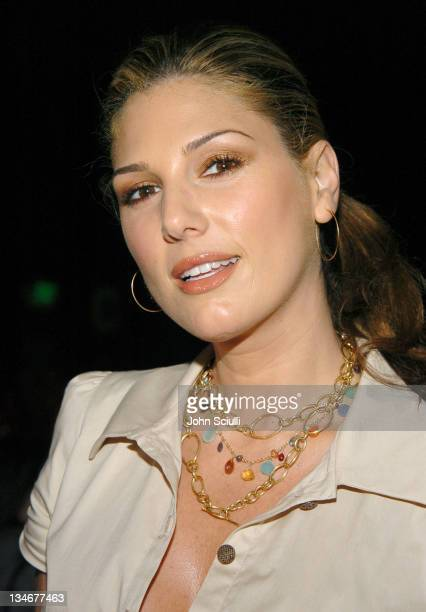 Daisy Fuentes during MercedesBenz Spring 2005 Fashion Week at Smashbox Studios Eduardo Lucero Front Row at Smashbox Studios in Culver City California...