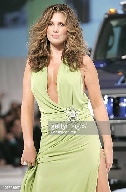 Daisy Fuentes during The 4th Annual 'ten' Fashion Show Presented by General Motors Show at 1540 Vine Street in Hollywood California United States