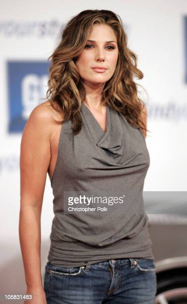 Daisy Fuentes during The 4th Annual 'ten' Fashion Show Presented by General Motors Arrivals at 1540 Vine Street in Hollywood California United States