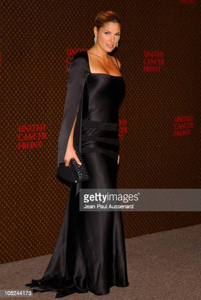Daisy Fuentes during The Louis Vuitton United Cancer Front Gala Arrivals at Private Residence in Holmby Hills California United States
