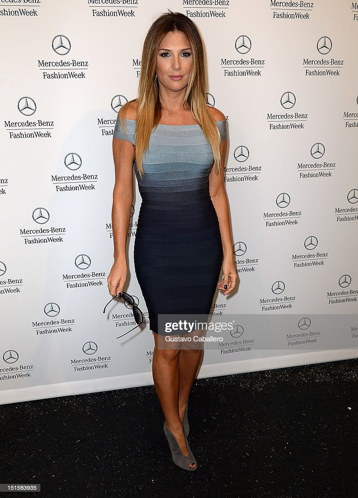 Daisy Fuentes is seen around at Lincoln Center for the Performing Arts on September 8, 2012 in New York City.