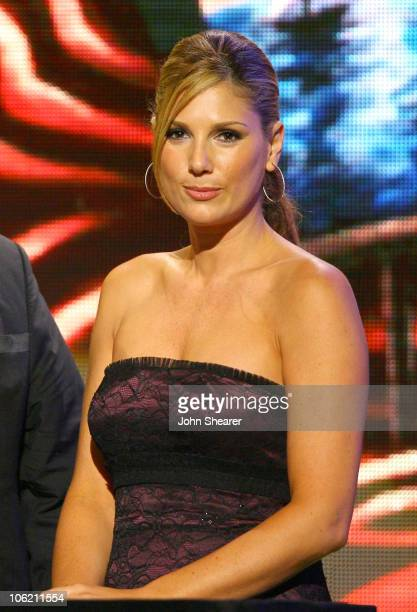 Daisy Fuentes presenter during 2007 NCLR ALMA Awards Show at Pasadena Civic Center in Pasadena California United States