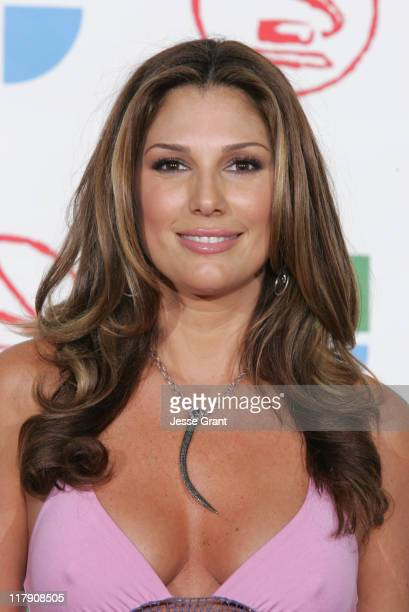 Daisy Fuentes presenter during The 6th Annual Latin GRAMMY Awards Press Room at Shrine Auditorium in Los Angeles CA United States