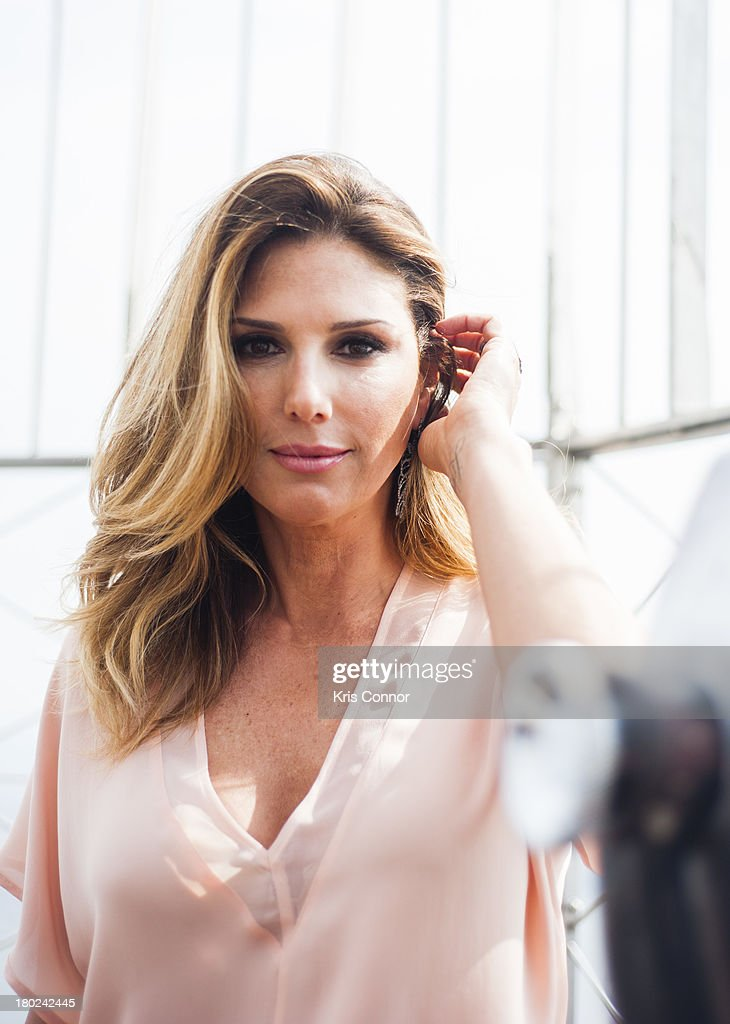 <a gi-track='captionPersonalityLinkClicked' href=/galleries/search?phrase=Daisy+Fuentes&family=editorial&specificpeople=201611 ng-click='$event.stopPropagation()'>Daisy Fuentes</a> visits at The Empire State Building on September 10, 2013 in New York City.