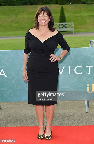 Daisy Goodwin arrives for the premiere screening of ITV's 'Victoria' at The Orangery on August 11 2016 in London England