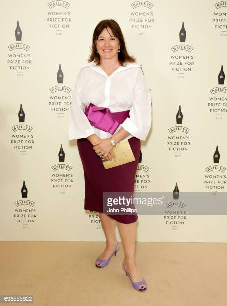 Daisy Goodwin attends the Baileys Women's Prize for Fiction 2017 at the Royal Festival Hall on June 7 2017 in London England