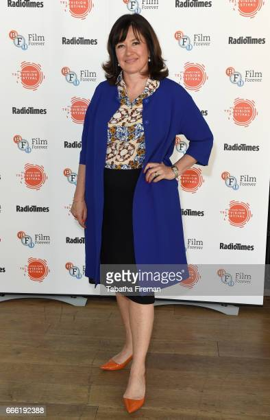 Daisy Goodwin attends the BFI Radio Times TV Festival at the BFI Southbank on April 8 2017 in London England