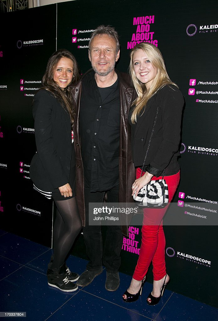 Daisy Head, <a gi-track='captionPersonalityLinkClicked' href=/galleries/search?phrase=Anthony+Head&family=editorial&specificpeople=215611 ng-click='$event.stopPropagation()'>Anthony Head</a> and Emily Head attend the gala screening of 'Much Ado About Nothing' at Apollo Piccadilly Circus on June 11, 2013 in London, England.