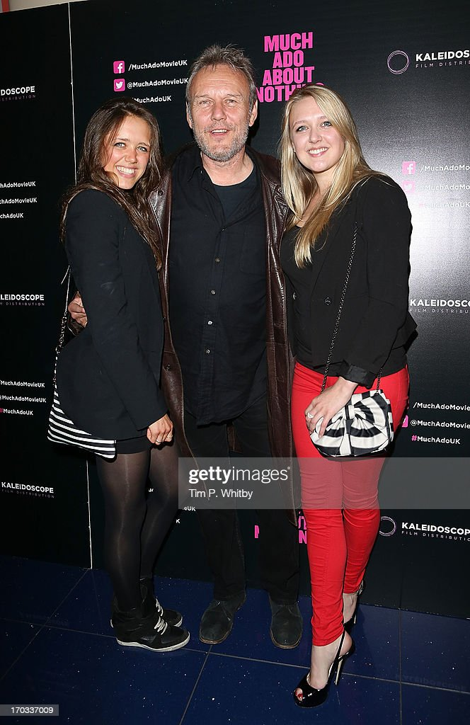 Daisy Head, <a gi-track='captionPersonalityLinkClicked' href=/galleries/search?phrase=Anthony+Head&family=editorial&specificpeople=215611 ng-click='$event.stopPropagation()'>Anthony Head</a> and Emily Head attends the gala screening of 'Much Ado About Nothing' at Apollo Piccadilly Circus on June 11, 2013 in London, England.