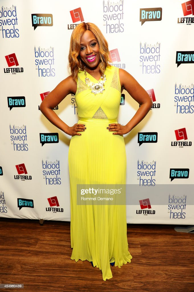 <a gi-track='captionPersonalityLinkClicked' href=/galleries/search?phrase=Daisy+Lewellyn&family=editorial&specificpeople=855951 ng-click='$event.stopPropagation()'>Daisy Lewellyn</a> attends the season premiere of 'Blood, Sweat and Heels' at Kristalbelli on December 10, 2013 in New York City.
