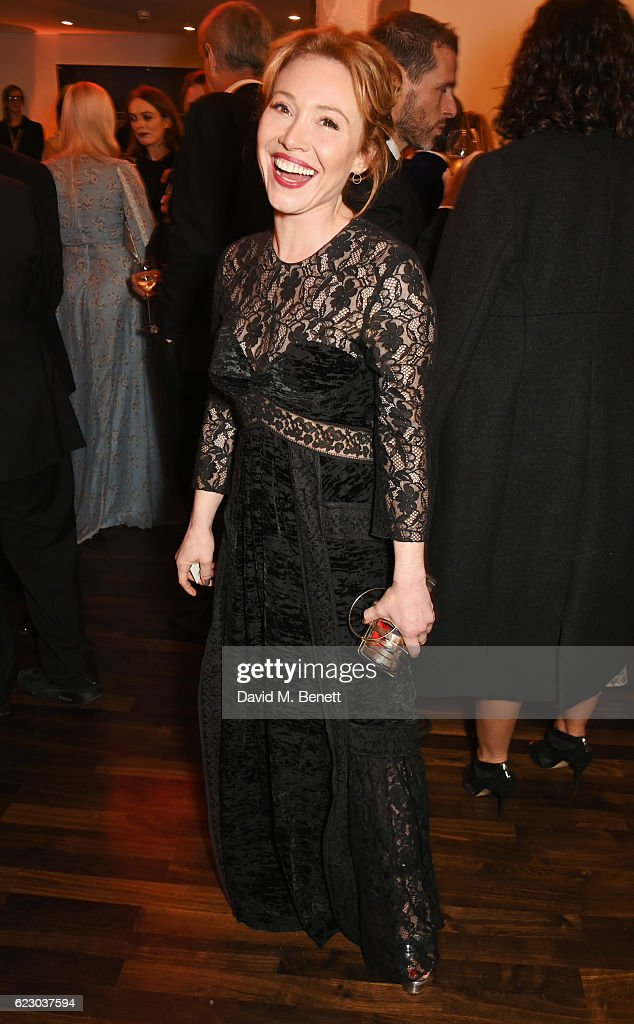 Daisy Lewis attends a cocktail reception at The 62nd London Evening Standard Theatre Awards, recognising excellence from across the world of theatre and beyond, at The Old Vic Theatre on November 13, 2016 in London, England.