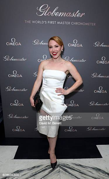 Daisy Lewis attends OMEGA Constellation Globemaster dinner at Marcus on December 8 2016 in London England