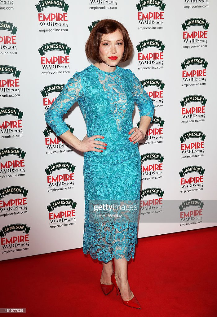 Daisy Lewis attends the Jameson Empire Awards 2014 at the Grosvenor House Hotel on March 30, 2014 in London, England. Regarded as a relaxed end to the awards show season, the Jameson Empire Awards celebrate the film industry's success stories of the year with winners being voted for entirely by members of the public. Visit empireonline.com/awards2014 for more information.