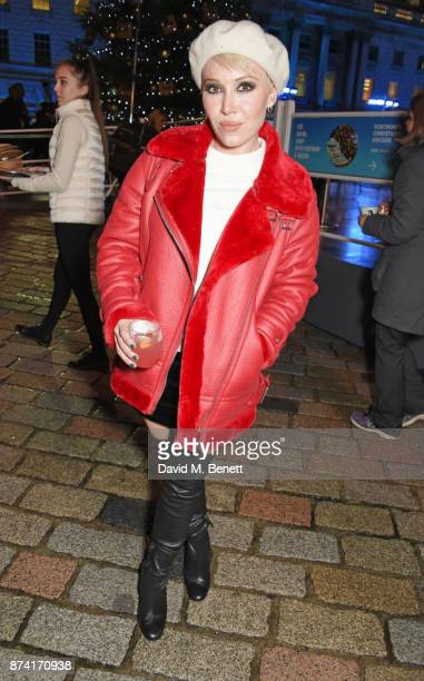 Daisy Lewis attends the opening party of Skate at Somerset House with Fortnum Mason on November 14 2017 in London England London's favourite festive...