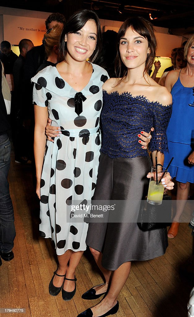 Daisy Lowe (L) and Alexa Chung attend the launch of Alexa Chung's first book 'It' at Liberty on September 4, 2013 in London, England.