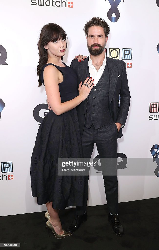 Daisy Lowe and Jack Guinness attend as GQ and One For The Boys with Swatch host the London Collections Men closing night karaoke at Abbey Road...