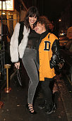 Daisy Lowe and Jaime Winstone attend the grand opening of Maddox Gallery on December 3 2015 in London England