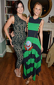 Daisy Lowe and Poppy Delevingne attend The London 2014 Stella McCartney Green Carpet Collection during London Fashion Week at The Royal British...