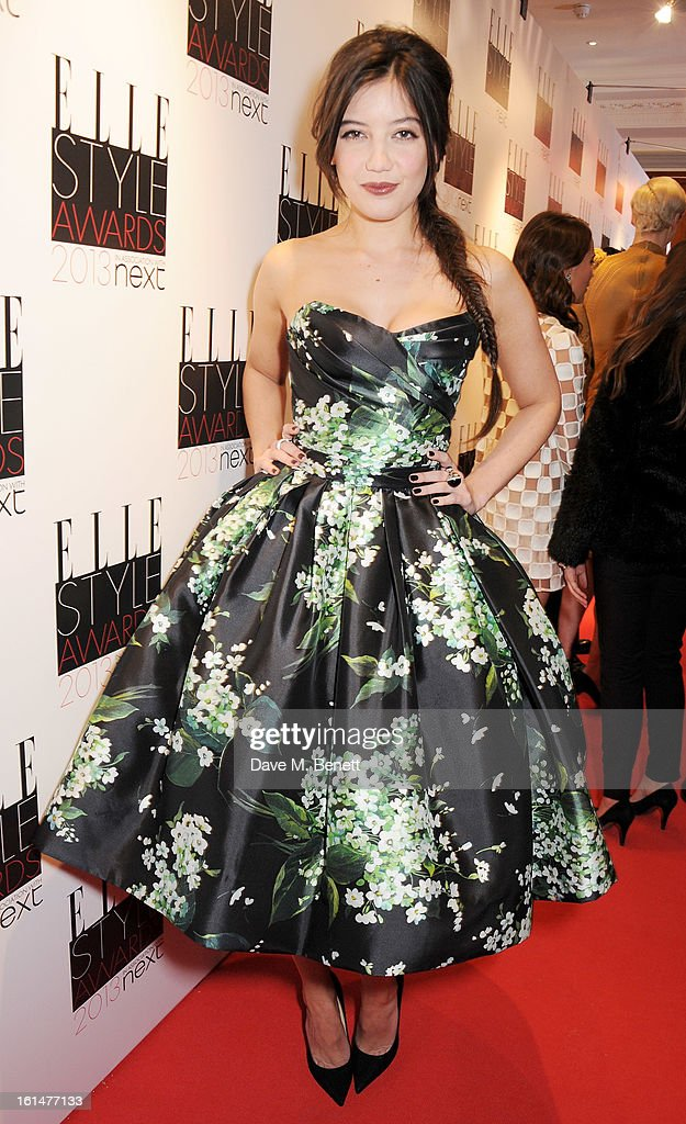 Daisy Lowe arrives at the Elle Style Awards at The Savoy Hotel on February 11, 2013 in London, England.