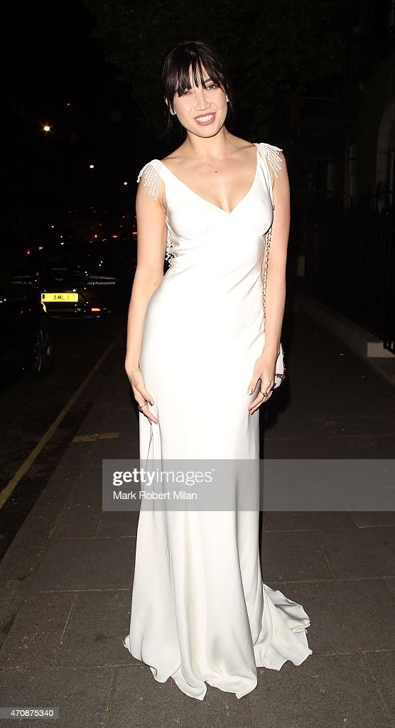 Daisy Lowe attending a Jo Malone party at the Jo Malone HQ on April 23 2015 in London England
