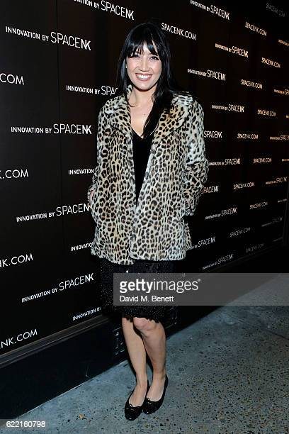Daisy Lowe attends a preview party to unveil leading British Luxury Beauty Retailer Space NKs first concept store Innovation by Space NK on Regent...