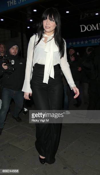 Daisy Lowe attends An American in Paris press night at Dominion Theatre on March 21 2017 in London England