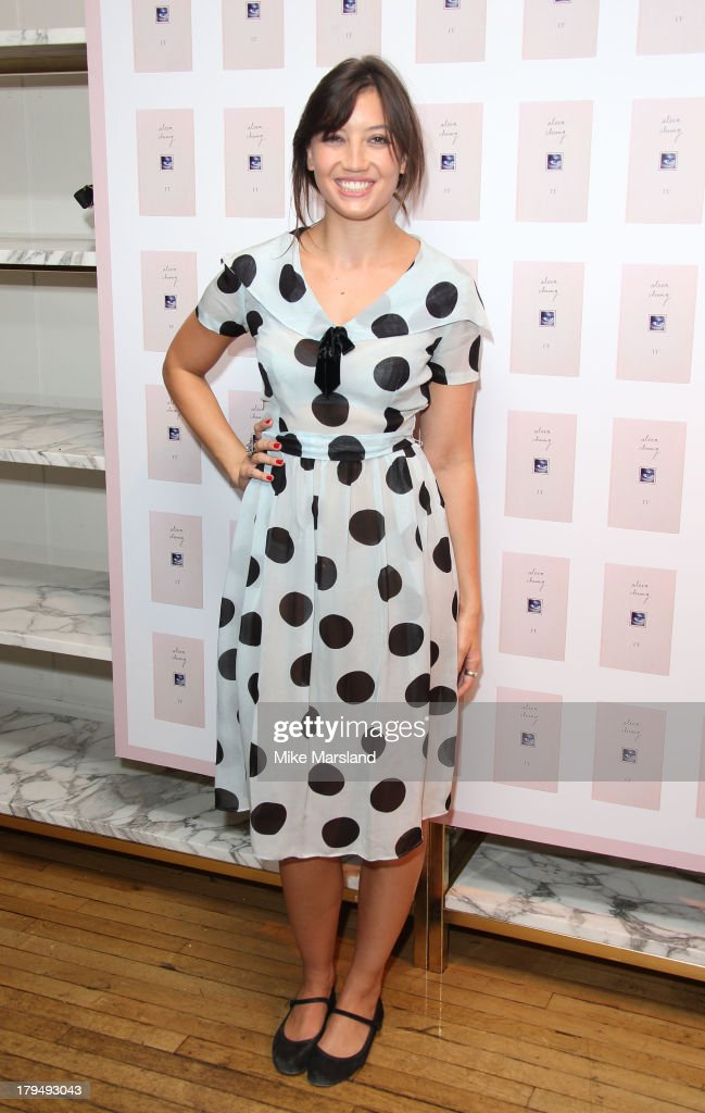 <a gi-track='captionPersonalityLinkClicked' href=/galleries/search?phrase=Daisy+Lowe&family=editorial&specificpeople=787647 ng-click='$event.stopPropagation()'>Daisy Lowe</a> attends as Alexa Chung celebrates the launch of her first book 'It' at Liberty on September 4, 2013 in London, England.