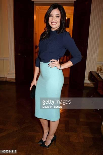 Daisy Lowe attends as Ambassador Barzun Mrs Brooke Barzun and Alexandra Shulman celebrate London Fashion Week at Winfield House in association with J...