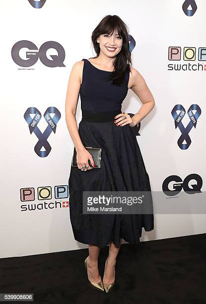 Daisy Lowe attends as GQ and One For The Boys with Swatch host the London Collections Men closing night karaoke at Abbey Road Studios on June 13 2016...