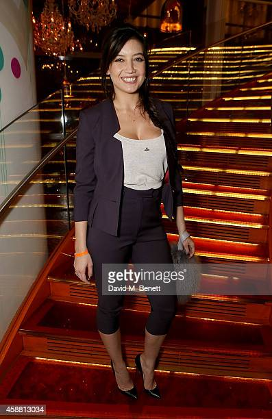 Daisy Lowe attends as Sushisamba celebrates its second anniversary with a performance by Lily Allen and a VIP party at Sushisamba on November 11 2014...