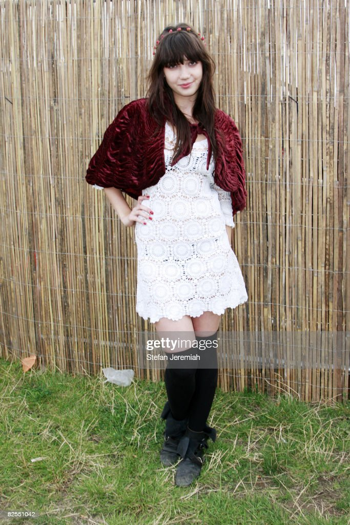 Daisy Lowe attends Get Loaded in the Park at Clapham Common on August 24, 2008 in London, England.
